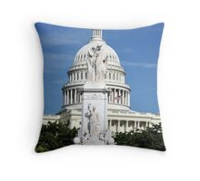 Remembering the fallen Throw Pillow