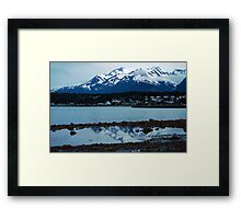 Twilight ~ Haines Alaska Framed Print