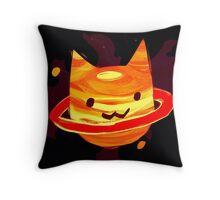 {NULL set} Saturn  Throw Pillow