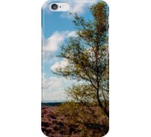 Tree on the Moors iPhone Case/Skin