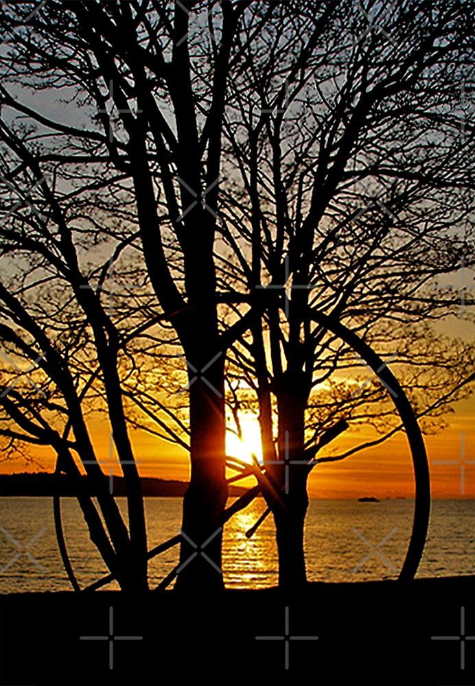 Sunset Through Art by MaluC