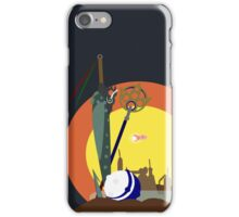 Final Fantasy X Opening Vector (Adjusted No Clouds) iPhone Case/Skin