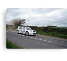 Jim Clark Rally 09 Canvas Print