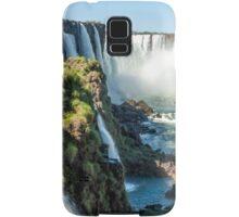 Around the Throat - Iguazu Falls Samsung Galaxy Case/Skin