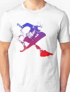 Shulk Super Smash Bros X Final Fantasy Logo (No Name) Unisex T-Shirt