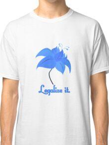 Legalize Poison Joke (text, white background) Classic T-Shirt