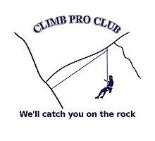 Climb Pro Club Photographic Print