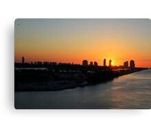 Good Morning Miami Canvas Print