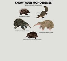 Know Your Monotremes T-Shirt