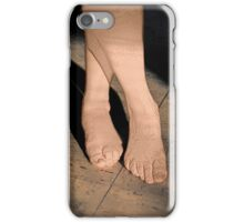Bare Feet Standing in Sunlight iPhone Case/Skin