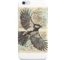 Somewhere above the sea. iPhone Case/Skin
