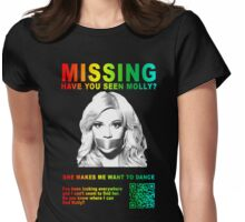 Have You Seen Molly? Womens Fitted T-Shirt