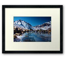 Convict Lake, Revisited Framed Print