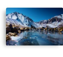 Convict Lake, Revisited Canvas Print