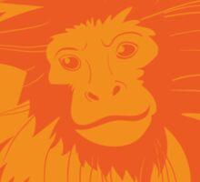 Love Golden Lion Tamarin Sticker