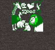 I Love Zoos (green 2015) Unisex T-Shirt