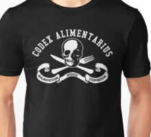 Codex Alimentarius - Malnutrition, Disease, Starvation Unisex T-Shirt