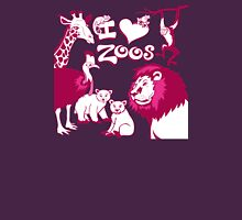 I Love Zoos (pink 2015) Unisex T-Shirt