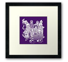 Smash Night Framed Print