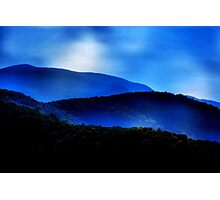 Feeling the Blues Photographic Print