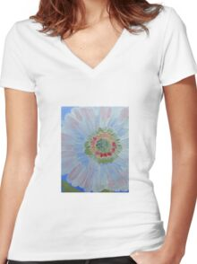 My Pretty Women's Fitted V-Neck T-Shirt