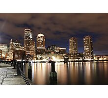 Harborwalk Boston Photographic Print
