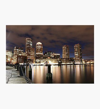 Harborwalk Boston Photographic Print