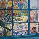 Elysian Grove Market Window by Linda Gregory