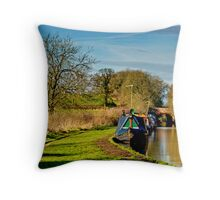 Oxford Canal 3 Throw Pillow