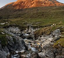 Cuillin Sunset, Isle of Skye by Thomas Peter