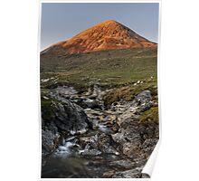 Cuillin Sunset, Isle of Skye Poster