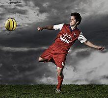 Soccer Portrait by Ryan Carter