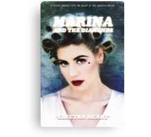 Marina and The Diamonds Electra Heart Canvas Print