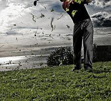 Golfing by Ryan Carter