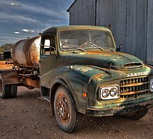Old Austin Truck by KellyJo