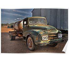 Old Austin Truck Poster