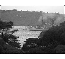Warship Photographic Print