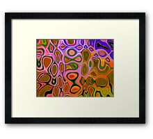 SEA LACE 2.0  Framed Print