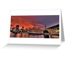 Sailors Warning - Campbells Cove , Sydney- The HDR Experience Greeting Card