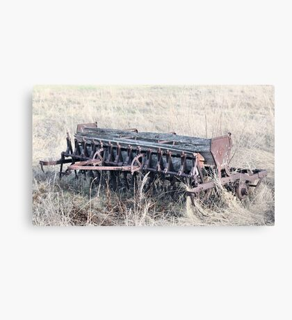 Antique Grain Seeder 1925 - 1926 JD VAN BRUNDT Canvas Print