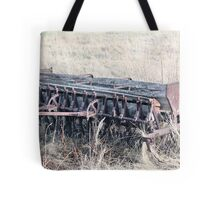 Antique Grain Seeder 1925 - 1926 JD VAN BRUNDT Tote Bag