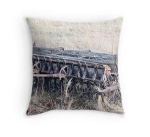 Antique Grain Seeder 1925 - 1926 JD VAN BRUNDT Throw Pillow