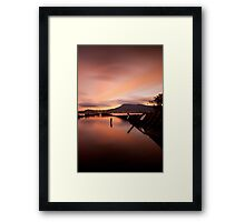Otago Bay Framed Print