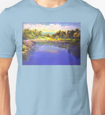 Angourie The Blue Pool Unisex T-Shirt