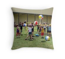 H2O Volleyball Throw Pillow