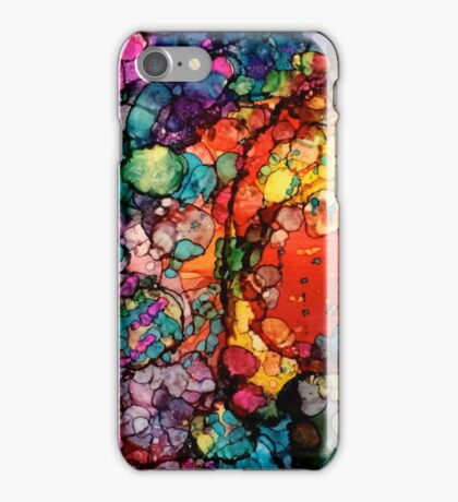 Rainbow Granite Galaxy iPhone Case/Skin