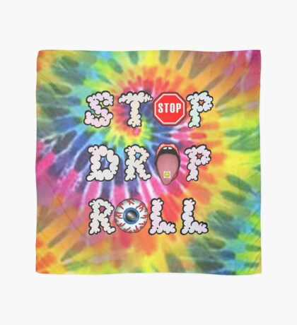 Stop Drop Roll Scarf