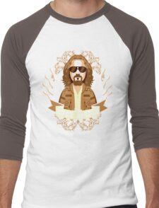 The Dude Abides Men's Baseball ¾ T-Shirt