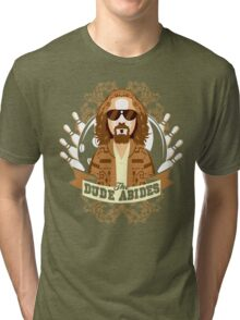 The Dude Abides Tri-blend T-Shirt