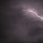 My first lightning shot by daisymw1